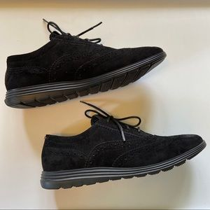 Cole Haan Gran ØS Suede Oxford Shoes